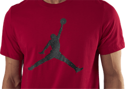 Jordan Jumpman SS Crew Black/Red