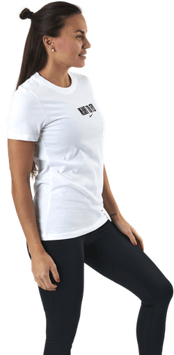 Womens Dri-Fit Tee - Meant To Fly White