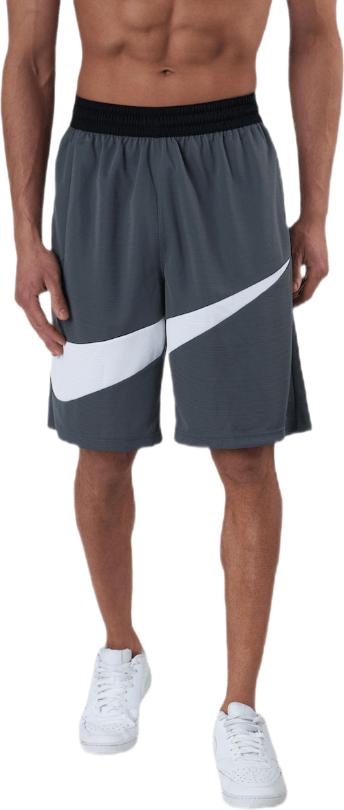 Dri-FIT HBR Basketball Shorts White/Grey