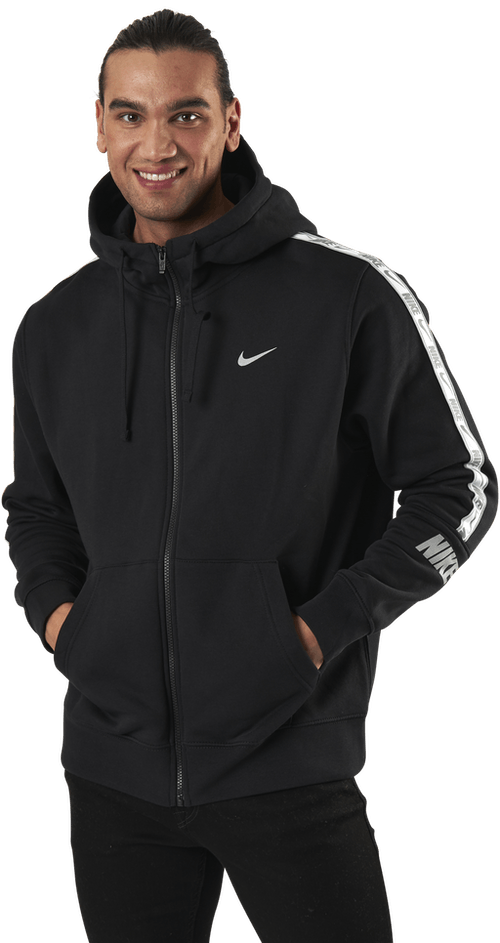 Nsw Repeat Flc Fz Hoodie Bb Black