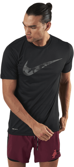 Dri-FIT Camo T-Shirt Swoosh Black