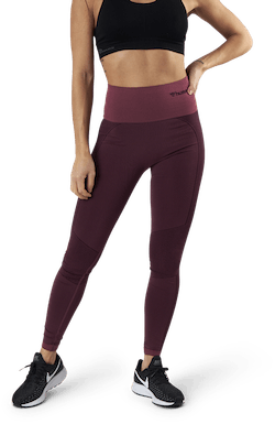 Zona High Waist Seamless Tights Red