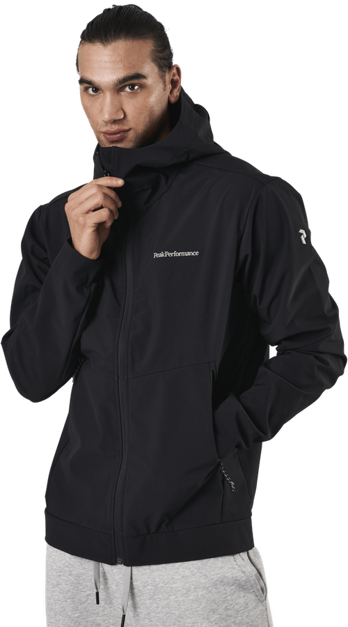 Adventure Hood Jacket Black