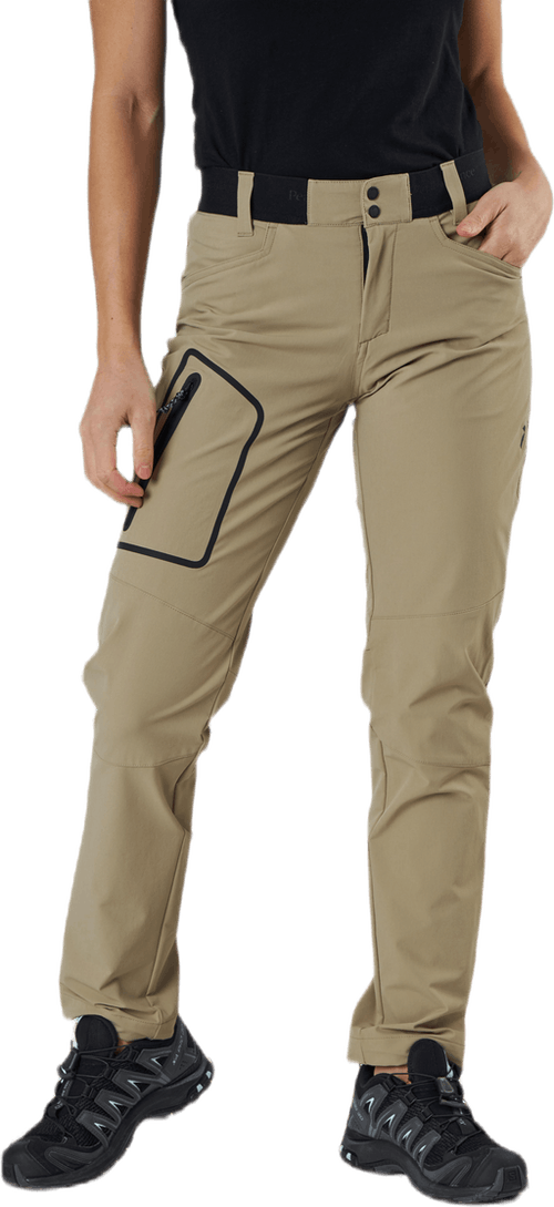 Light SS Scale Pant Beige