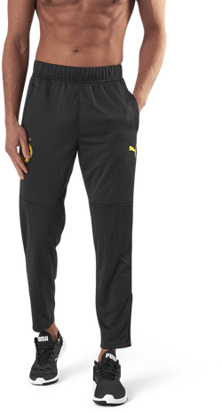 BVB Warmup Pants Black/Yellow