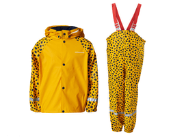 Slaskeman Printed Rain Set Yellow