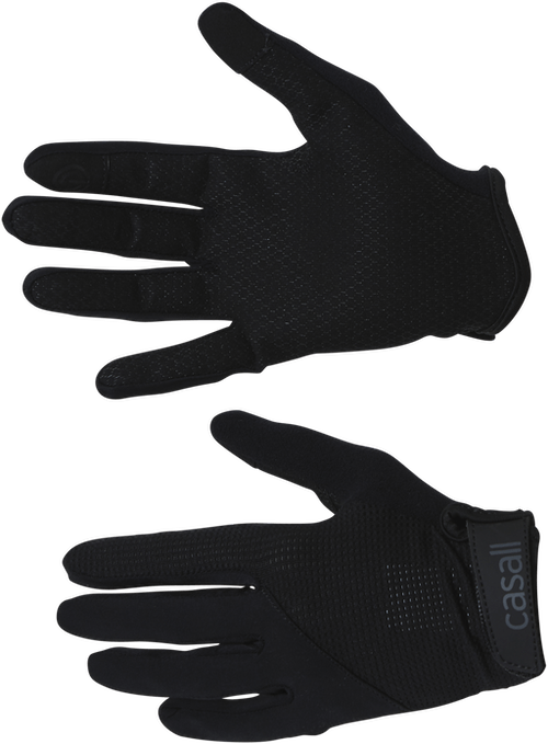 Exercise glove Long finger Wmns Black