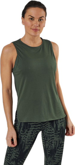 Drapy Muscle Tank Green