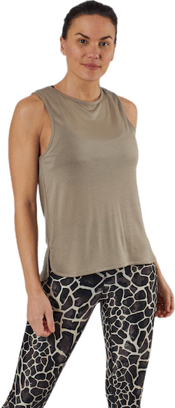 Drapy Muscle Tank Grey