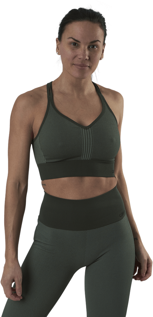 Seamless Sports Top Green