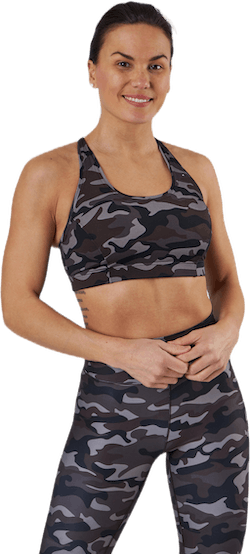 Iconic Sports Bra Grey