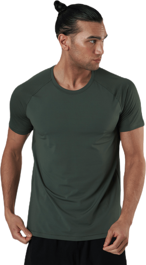 Structured Tee Green