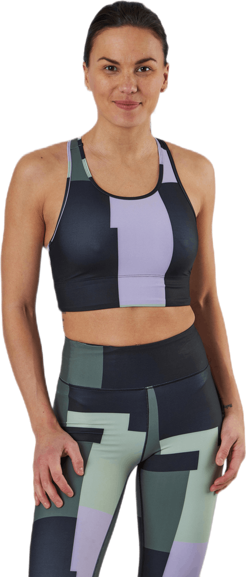Printed Sport Top Green
