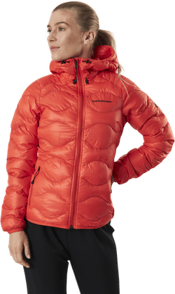 Helium Hood Jacket Red
