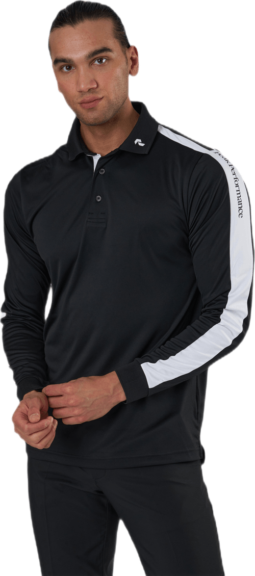 Player Polo LS Black
