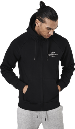 Original Zip Hood Black