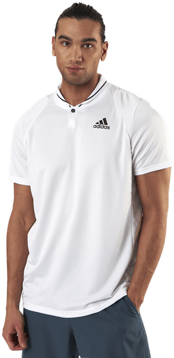 Club Rib Polo White