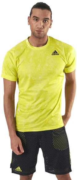 Freelift T-Shirt Primeblue Heat Yellow
