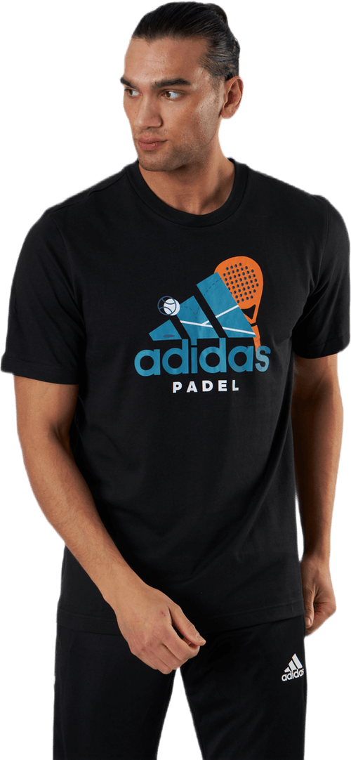 Padel Graphic Logo Black