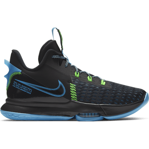 LeBron Witness 5 Green/Black