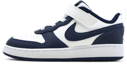 Court Borough Low TD Blue/White