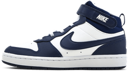Court Borough Mid Sneaker PS Blue/White