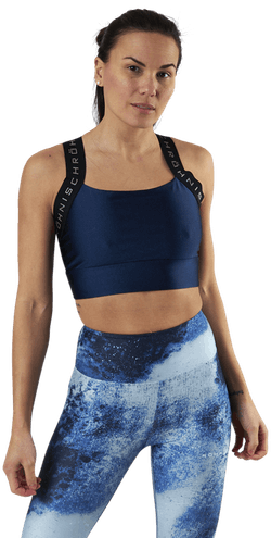 Shiny Kay Sports Bra Blue
