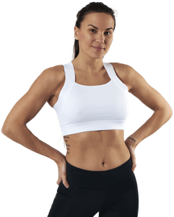 Kay Sports Bra White