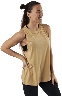 Clara Loose Singlet Yellow