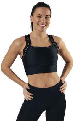 Shiny Kay Sports Bra Black