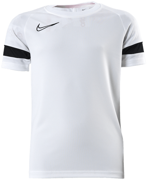 Jr Dri-FIT Academy 21 SS Tee White