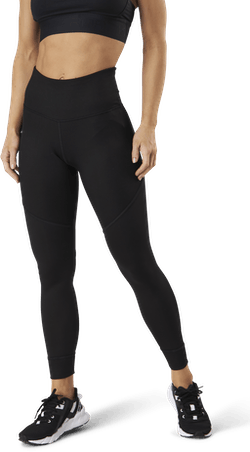 Studio Rib High Waist 7/8 Tight Black