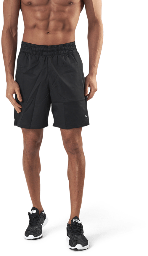 "Performance Woven 7"" Shorts Black"
