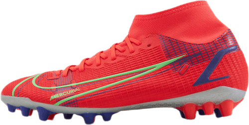 Mercurial Superfly 8 Academy AG Silver/Red