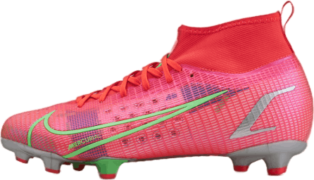 Superfly 8 Pro FG Silver/Red