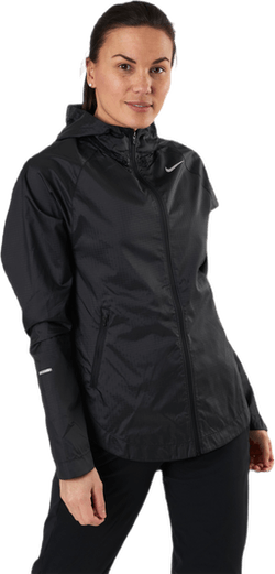 Essential Run Division Jacket Black/Silver