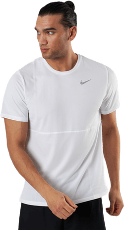 Breathe Run Top SS White