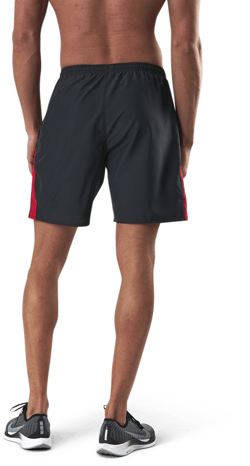 "Dri-FIT Run 7"" Short Black/Red"