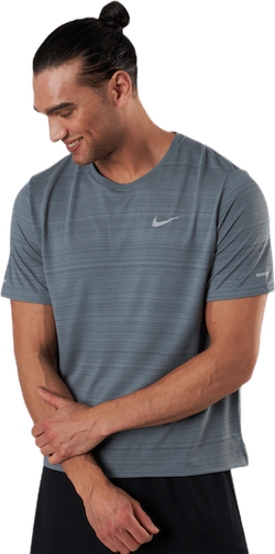 Dri-FIT Miler Top SS Grey