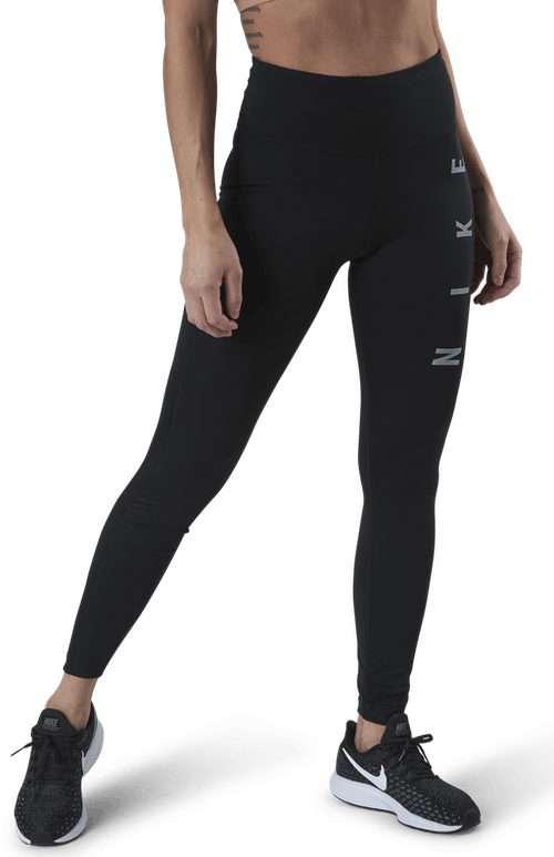 Epic Fast Run Division Tight Black/Silver