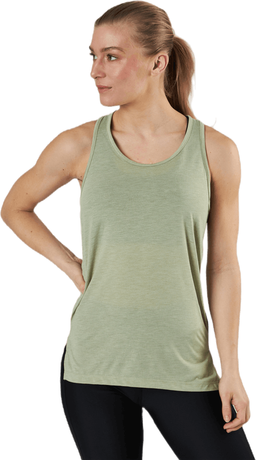 Yoga Layer Tank White/Yellow