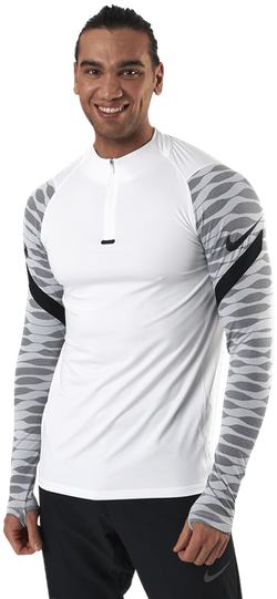 Dry Strike Dril Top White/Black