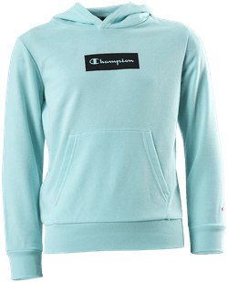 Pastel Hooded Sweatshirt Jr Turquoise