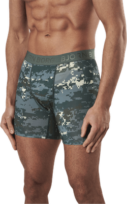 Per Shorts Digital 3-pack Green