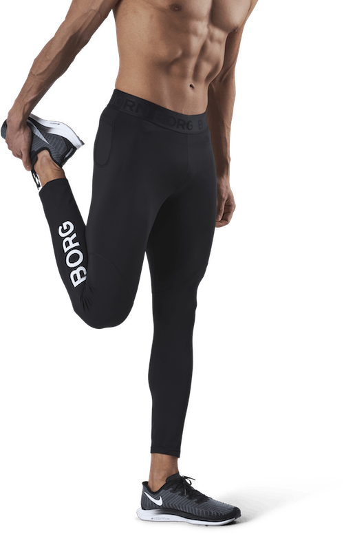 Borg Tights Black
