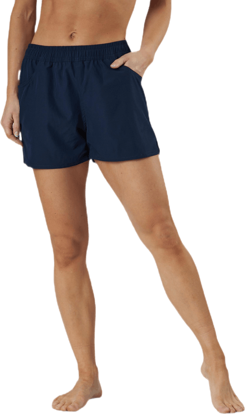 Lucca Solid Shorts Blue