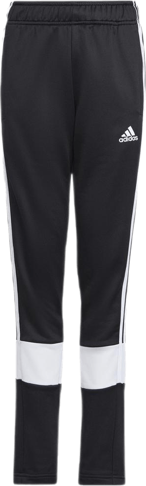 Jr BAR 3 Stripe Pants White/Black