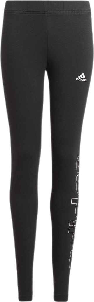 Jr Linear Legging White/Black