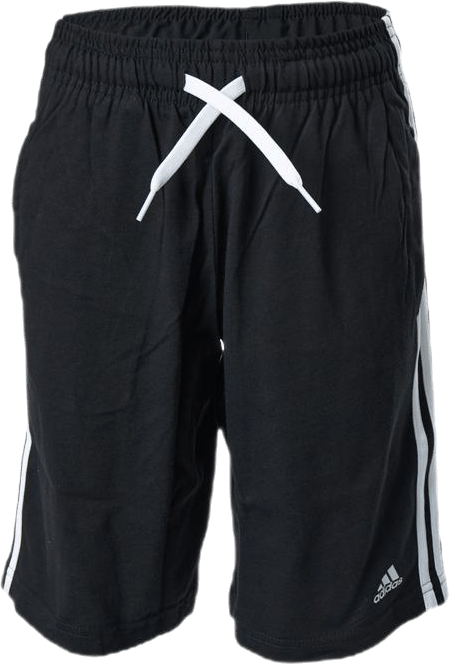 Jr 3 Stripe Shorts White/Black