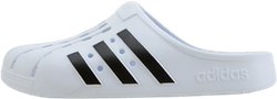 Adilette Clog White/Black